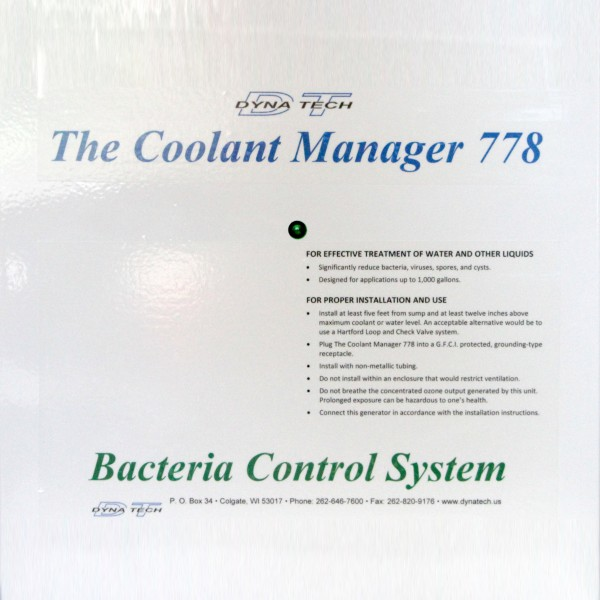 THE COOLANT MANAGER™ 778